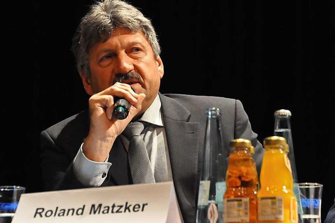 Roland Matzker wird nicht für einen zweiten Wahlgang zur Verfügung stehen.  | Foto: Nicolai Kapitz