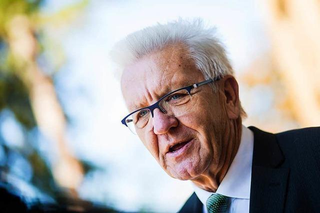 Kretschmann ordnet seine Staatskanzlei neu