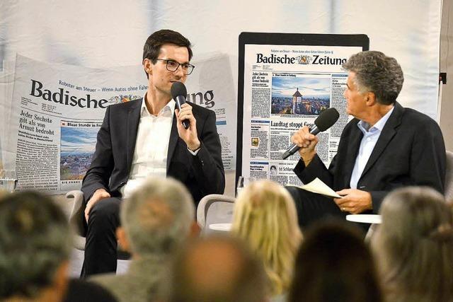 100 Tage im Amt: OB Martin Horn zu Gast bei BZ-Hautnah