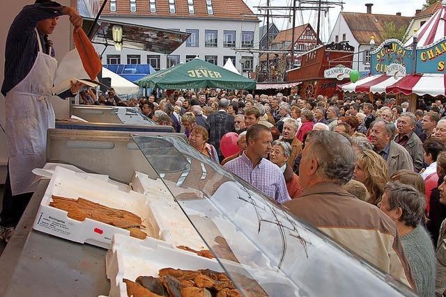 Fischmarkt zum 10. Mal in Offenburg