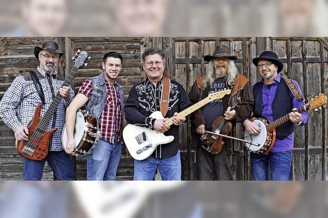 20 Jahre Country-Western-Club Bad Säckngen am 20.10.18 im Kursaal. U.a. mit der Band