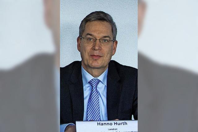 Hanno Hurth will Landrat bleiben
