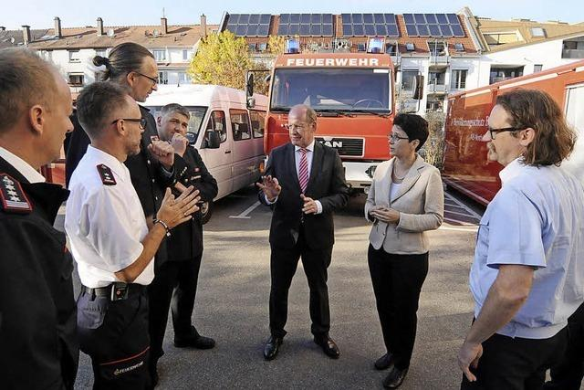 Feuerwehren im Landkreis arbeiten eng zusammen