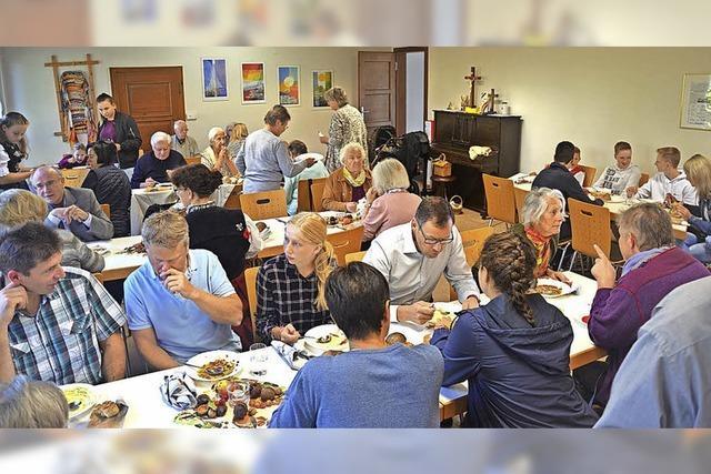 Kirchen pflegen Erntedank-Tradition