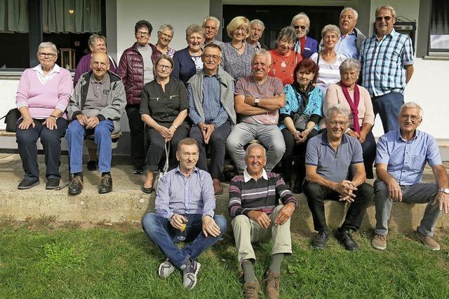 Klassentreffen in Dillendorf