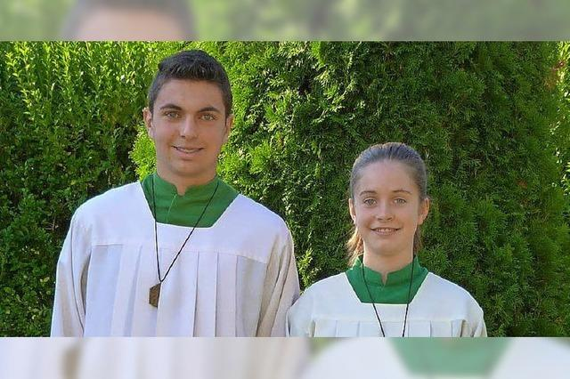 Neue Minis in St. Mansuetus