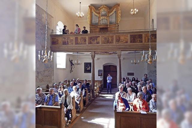 Älteste Orgel im Breisgau