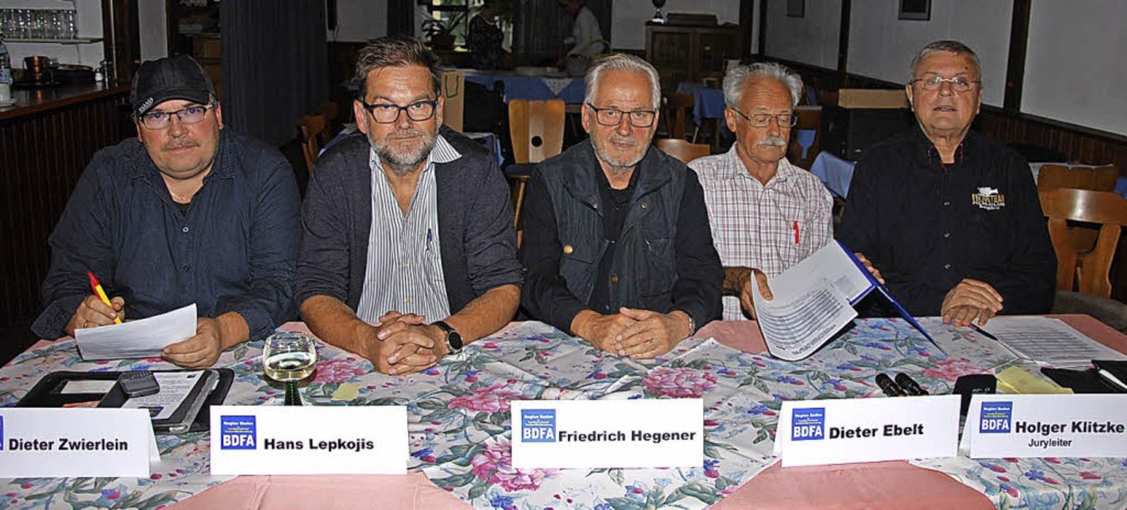 Eine fünfköpfige Jury bewertete die eingereichten Kurzfilme.    Foto: Dorothea Scherle