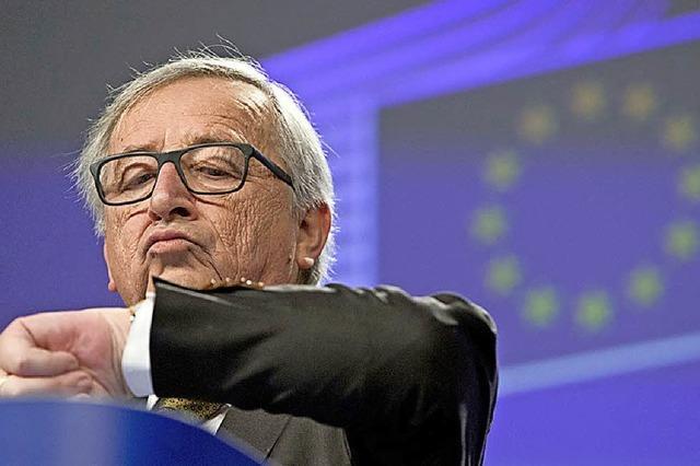 EU-Staaten wollen gemeinsame Zeitzone – aber welche?