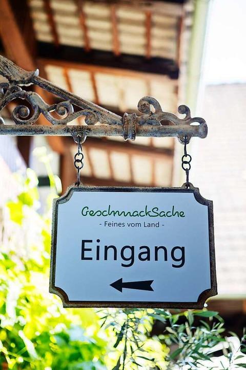 GeschmackSache heißt der Laden von Miriam Kokemoor in Ihringen.   | Foto: Joss Andres