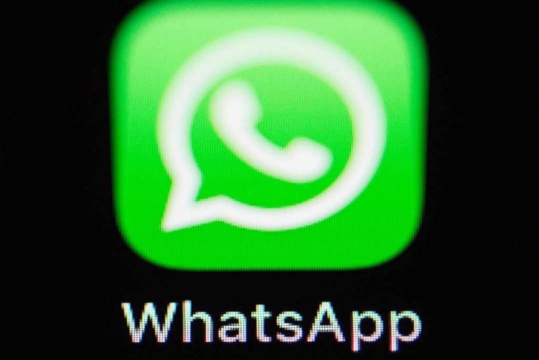 Der Messenger Whatsapp hat eine schwere Sicherheitslücke.  | Foto: dpa