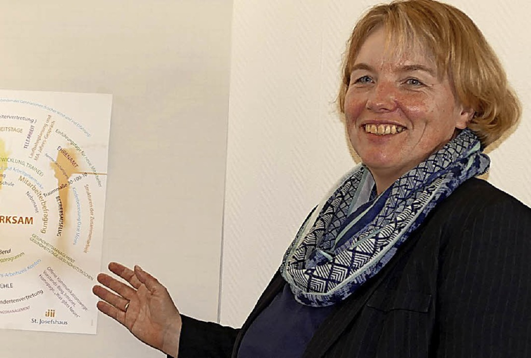 Respekt und Achtung gehören zu Birgit Ackermanns Grundsätzen.  | Foto: Ingrid Böhm-Jacob