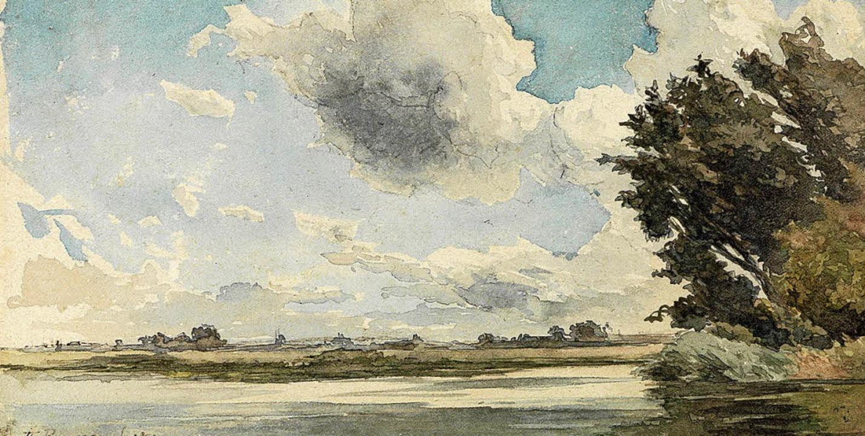 "Théodore Rousseau: ""Am Ufer der Loire"" (1850)  | Foto: Kunsthalle"
