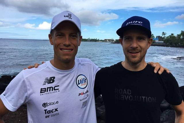 Die Freiburger Marc Dülsen und Maurice Clavel starten beim Ironman