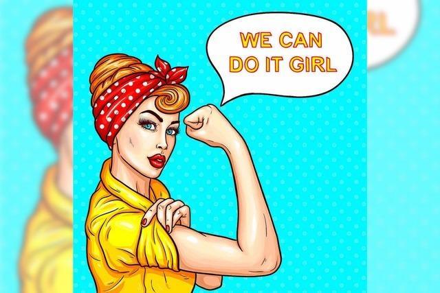 Der Tag, an dem junge Frauen Führungspositionen übernehmen