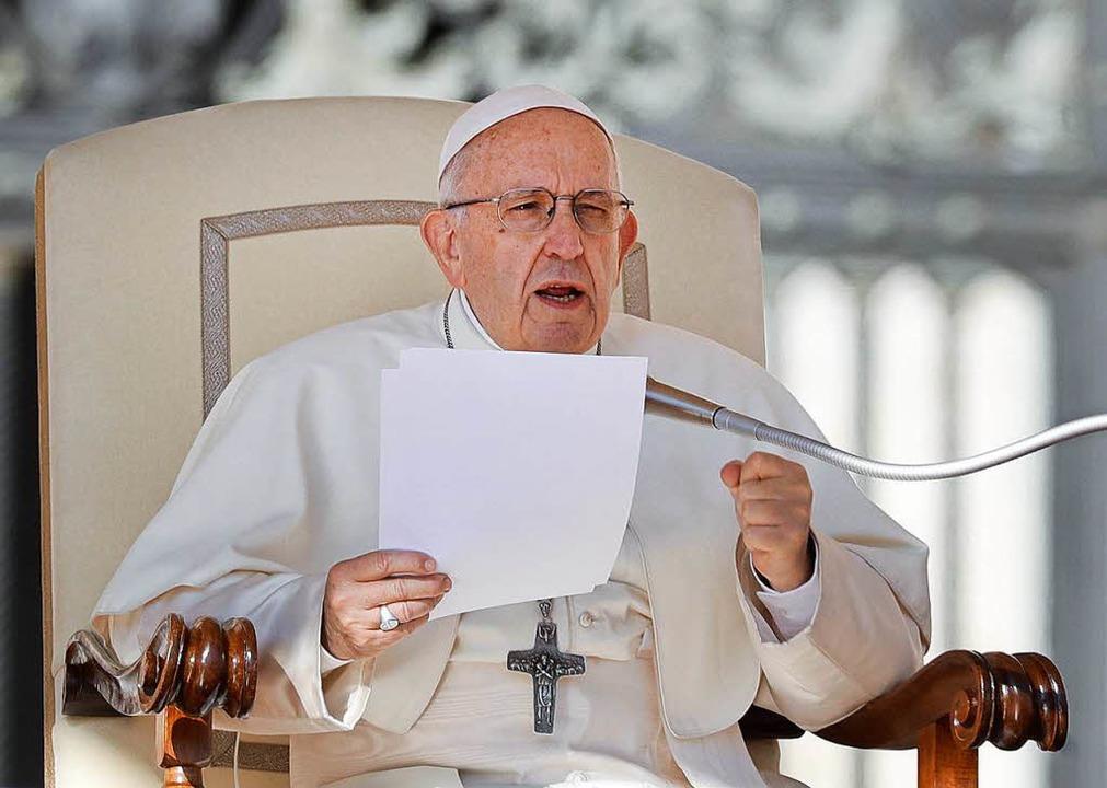Papst Franziskus  | Foto: dpa