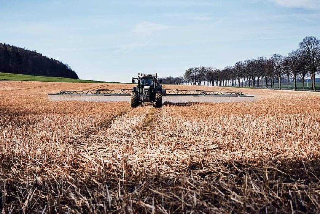 Pestizide sind schon seit 1984 untersa...ermeister Michael Thater. (Symbolbild)  | Foto: Steven Lüdtke