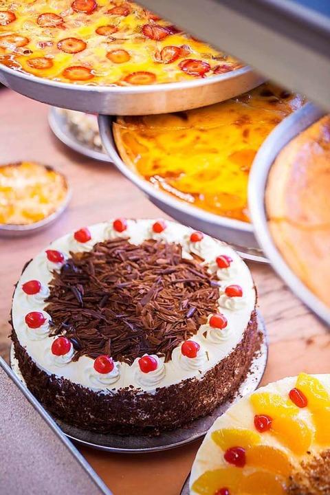 Das können Fritz und Kollegen natürlic...e Bäckerei ist auch eine Konditorei.    | Foto: Joss Andres
