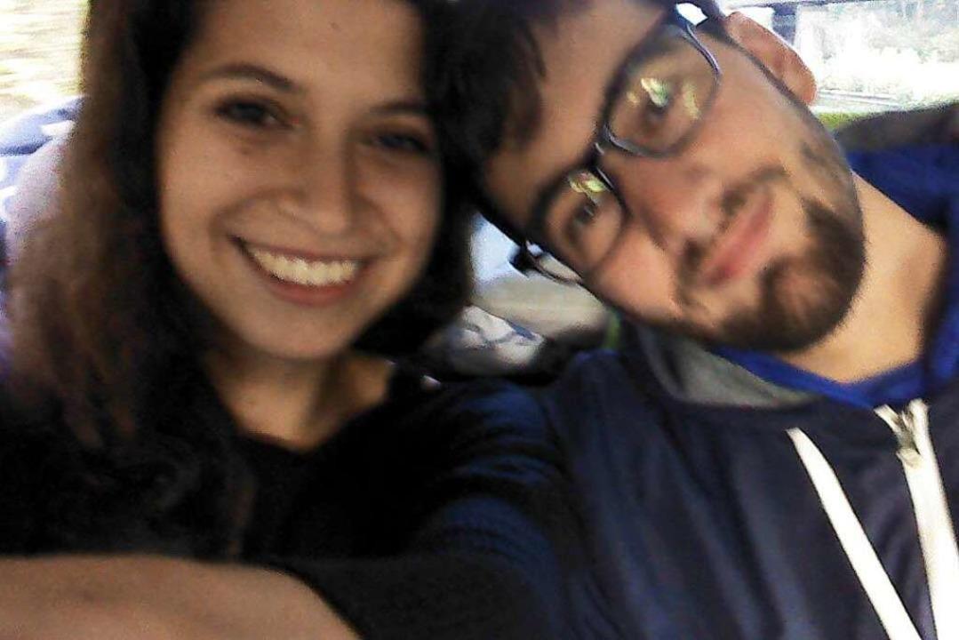 Seine Freundin Jasmin hat Isenmann während des Studiums in Trier kennen gelernt.  | Foto: privat