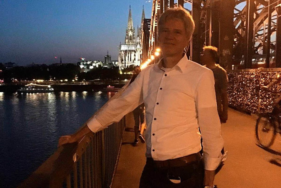 In Köln setzte er sich gegen 160 Mitbewerberdurch.    Foto: privat