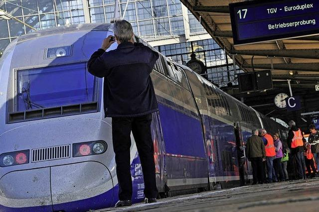 Der TGV hält bald in Emmendingen
