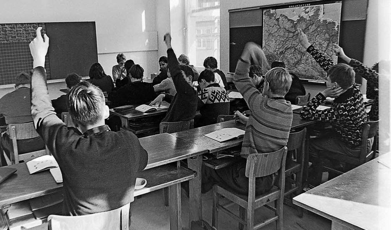 Die Räume im alten evangelischen Pfarr...ule für lernbehinderte Kinder genutzt.  | Foto: Armin Möller