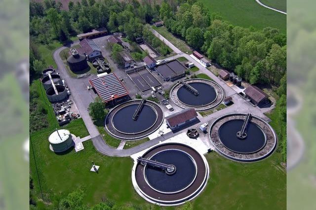 Hohe Investitionen im Abwasserbereich