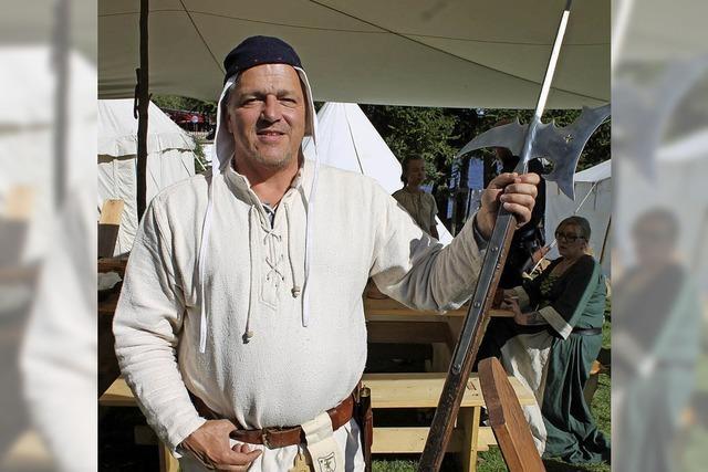Freizeit findet im Mittelalter statt