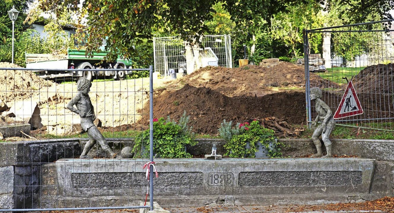 Mit der Umgestaltung des  Kurparks in ...ßballerbrunnen soll erhalten bleiben.   | Foto: Steinhart