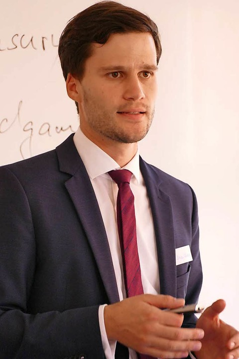 Referent Nikolai Diekert  | Foto: Maja Tolsdorf