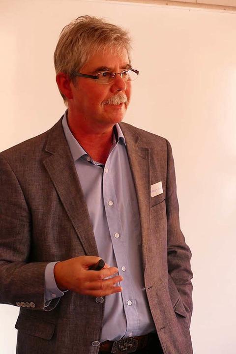 Referent Eckhart Hanser  | Foto: Maja Tolsdorf