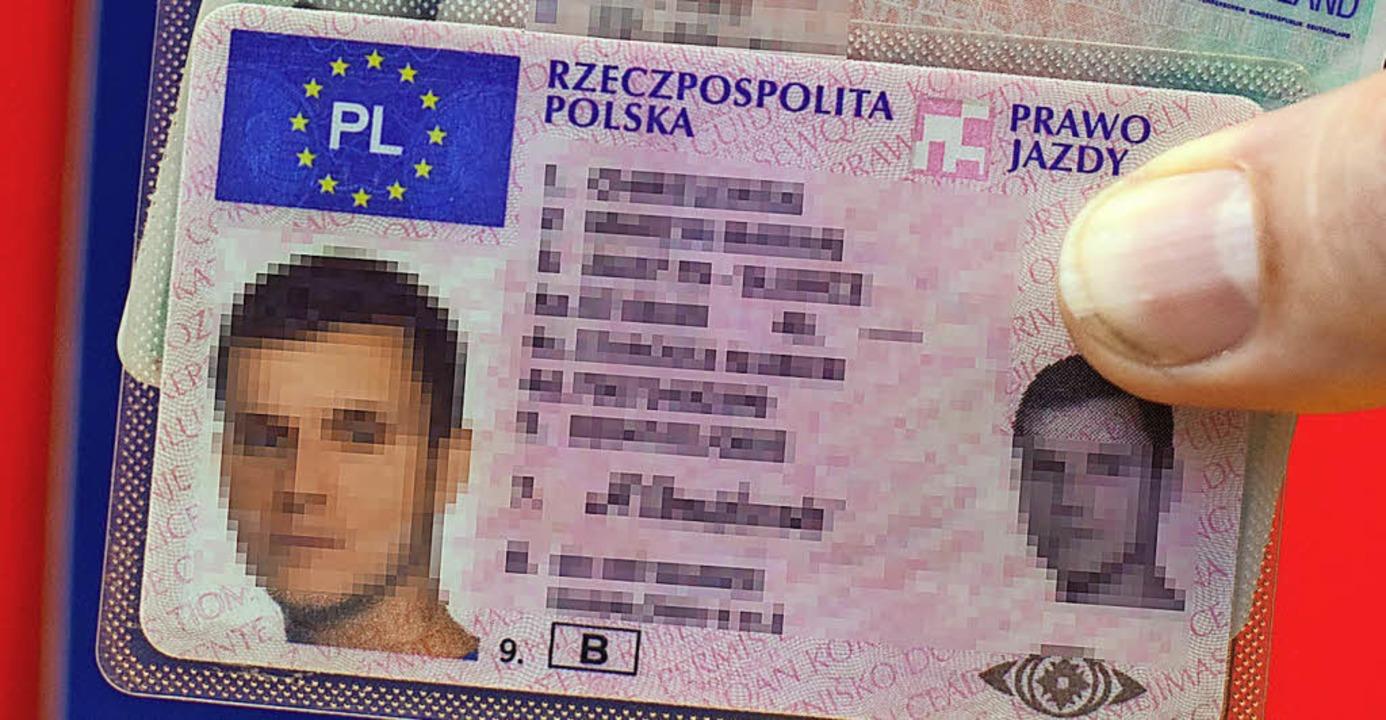 Polnischer Führerschein
