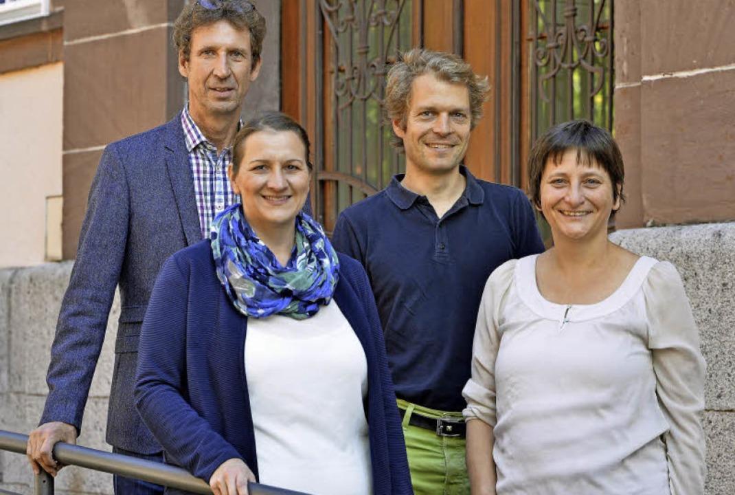 Drei Jahre lang waren sie im Westen un...sler, Nils Adolph und Beatrix Pfeifer.  | Foto: Michael Bamberger