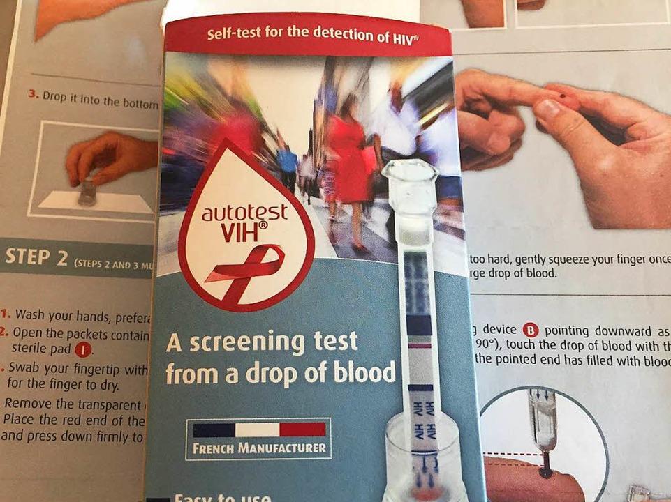 Der HIV-Selbsttest ist ab Oktober in F...ältlich – online natürlich auch.    Foto: Gina Kutkat