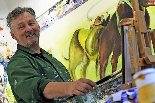 Der malende Tierarzt aus Glottertal