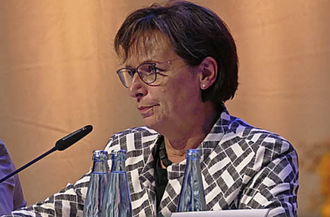 Edith  Schreiner ist Vorsitzende des Gemeindewahlausschusses.    Foto: Helmut Seller