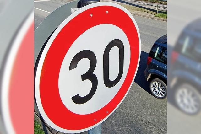 Luttingen will 30er-Zone weiter im Blick behalten