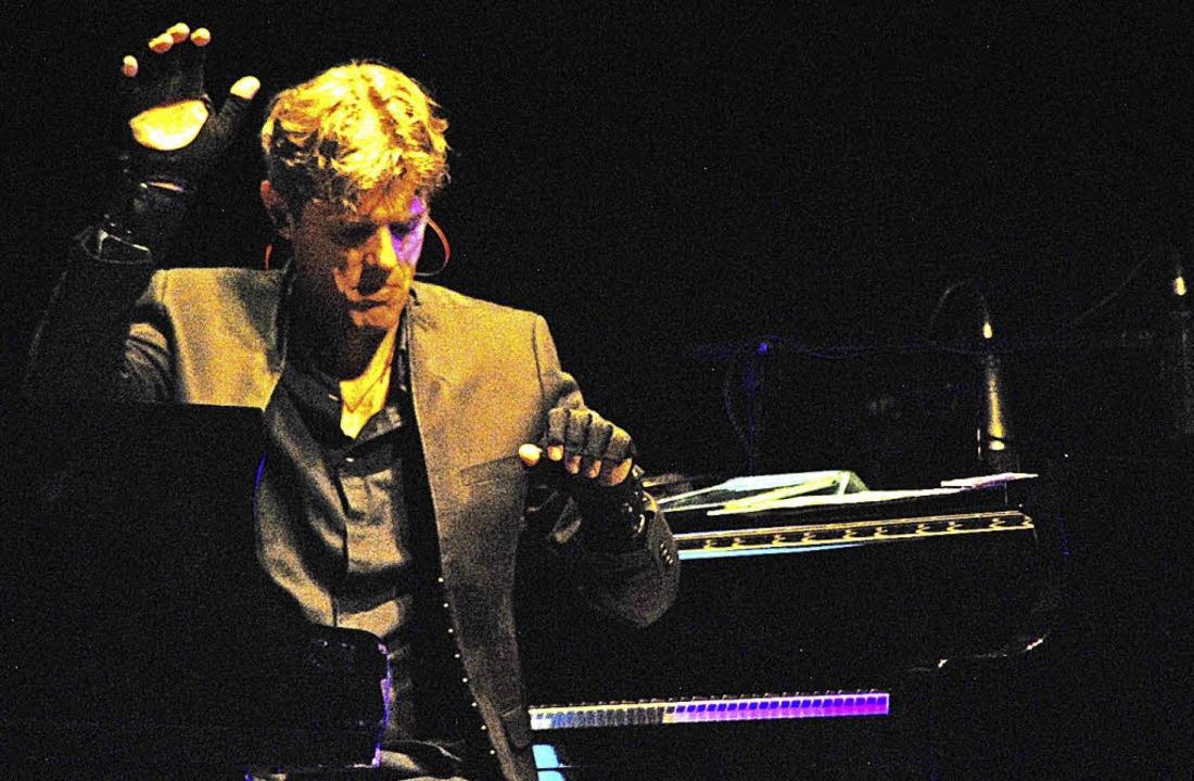 Mit elektronischen Mitteln eröffnete R...id dem Konzertflügel neue Klangräume.   | Foto: Thomas Loisl Mink