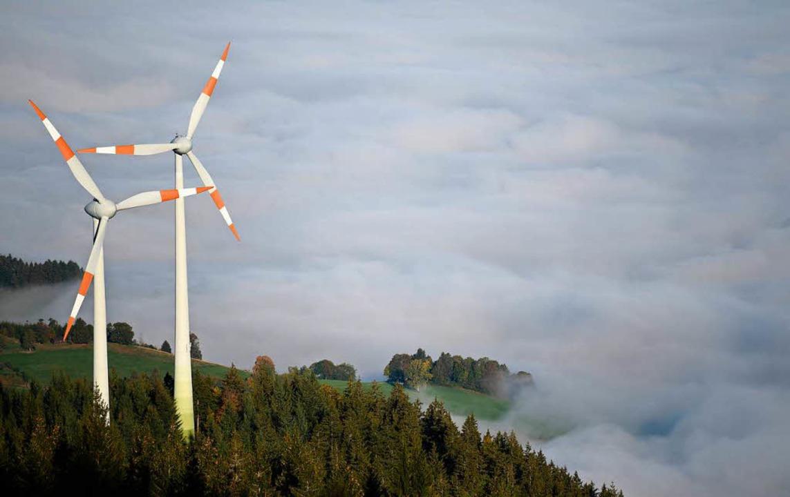 Windräder am Schauinsland  | Foto: DPA