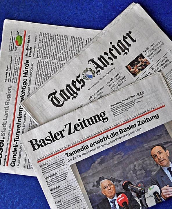 Konzentrierte Zeitungslandschaft   | Foto: Daniel Gramespacher
