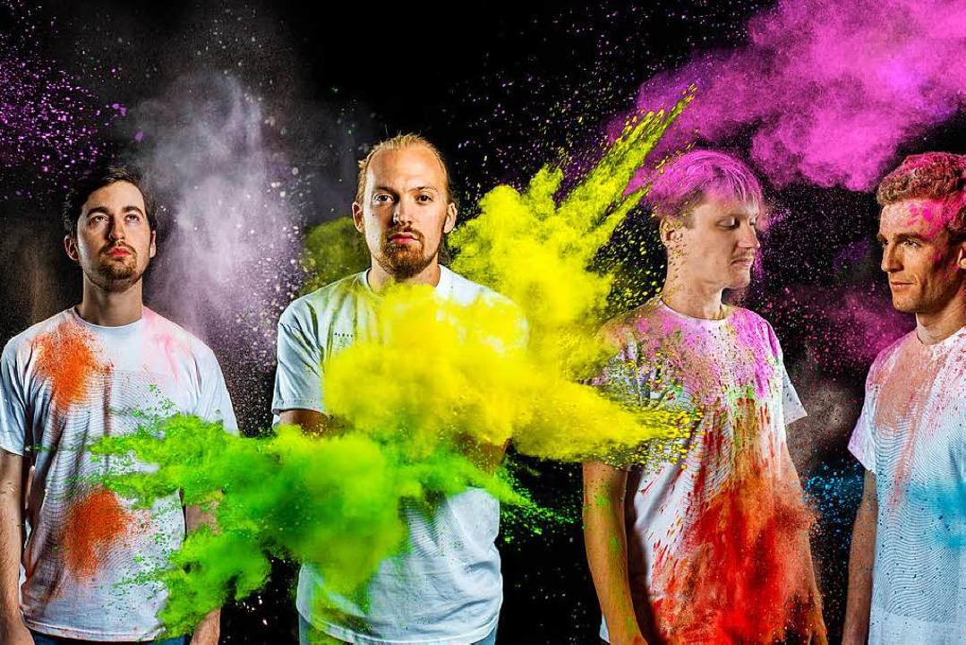 Die Band Aerie    Foto: Jannes Schilling