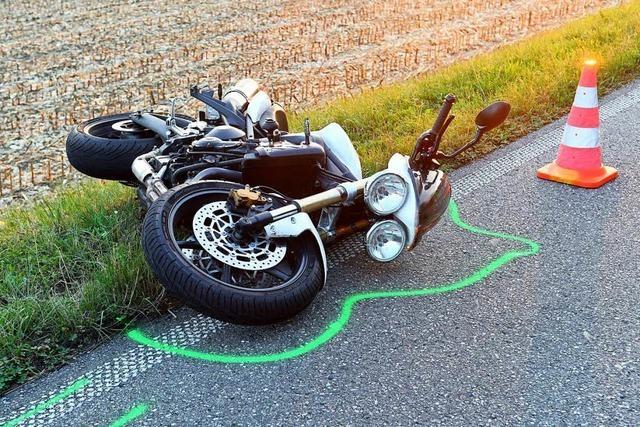 Motorradfahrer wird zwischen Oberschopfheim und Diersburg schwer verletzt