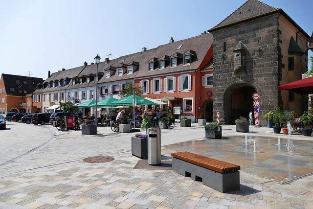 Positive Zwischenbilanz bei der Umgestaltung der Breisacher Innenstadt