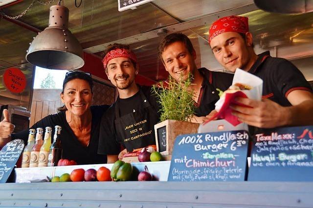 BZ-Foodtruck-Fest: Erst gut essen, dann bummeln