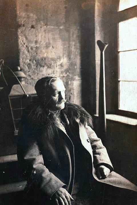 Der Türmer Julius Hipp (Aufnahme 1922)  | Foto: ?
