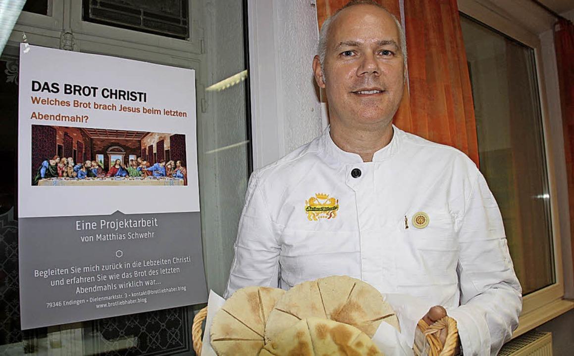 Wie war wohl das Grundnahrungsmittel B...rschte Bäckermeister Matthias Schwehr.  | Foto: Christiane Franz