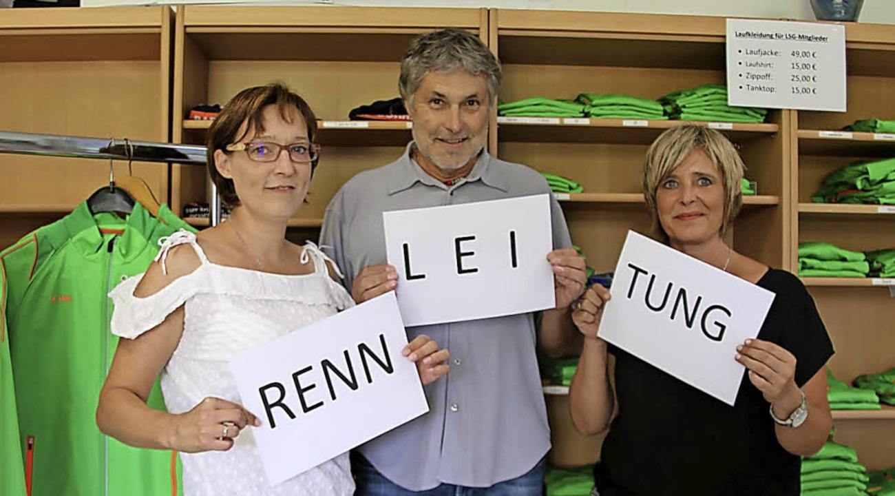 Sie sorgen dafür, dass beim Bräunlinge...Haas, Wolfgang Böhe und Tanja Futter.     Foto: Stephanie Jakober