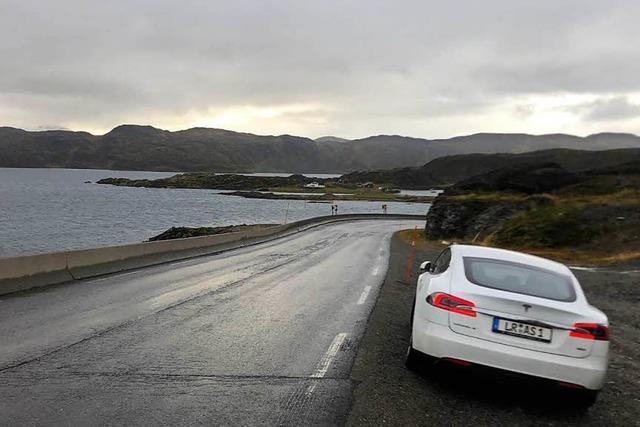 Ein Lahrer fuhr ohne Sprit in acht Tagen ans Nordkap