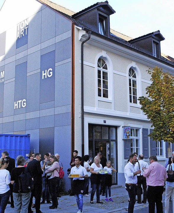 Frisch renoviert: Das Haus des CVJM-Sc...wurde am Freitag feierlich eingeweiht.    Foto: Thomas Loisl Mink