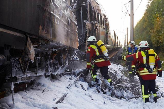 Zugstrecke zwischen Köln und Frankfurt bleibt fürs Wochenende gesperrt
